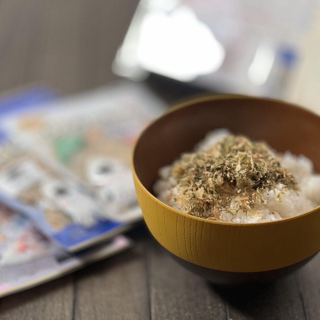 澤田食品様から生ふりかけを頂いたら美味しかった!!